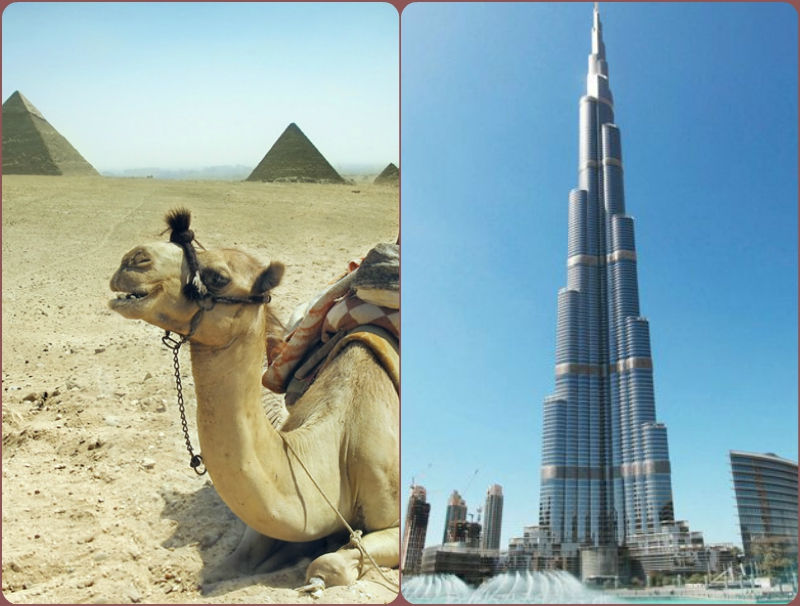 Egypt and Dubai Tours | Dubai and Egypt Vacation Packages