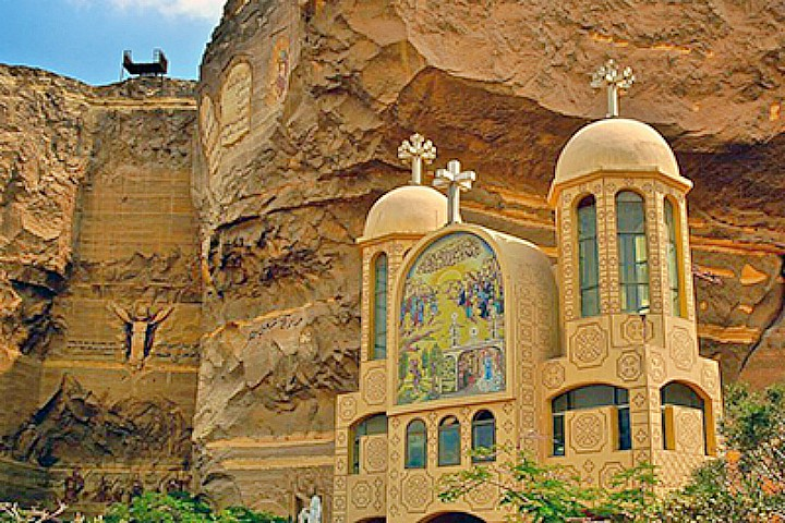 Half Day Tour to the Cave Church and the Garbage City in Cairo