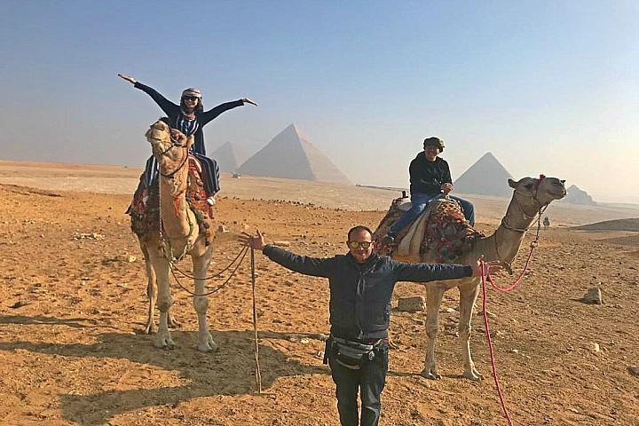 Camel or Horse Riding at Giza Pyramids from Airport | Giza Camel Ride Layover