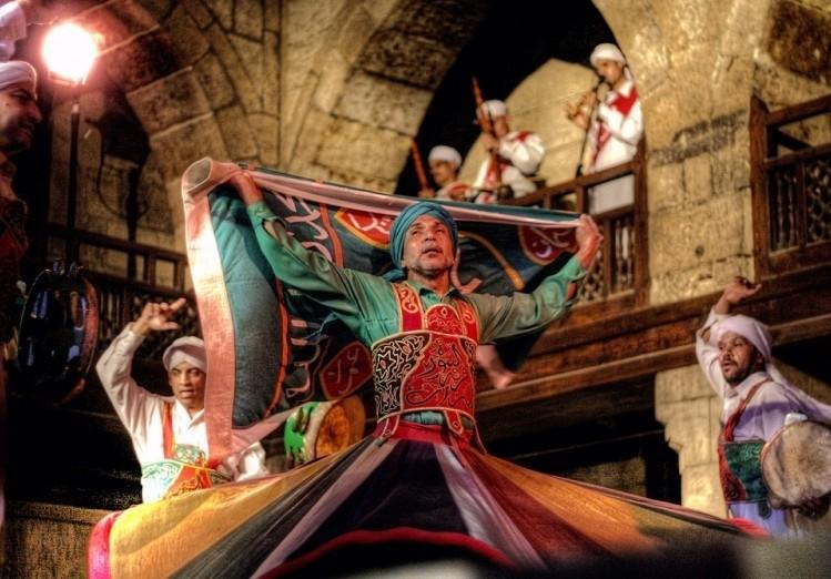 Wekalet El Ghouri Dance Show | Tannoura Egyptian Folk Dance in Cairo