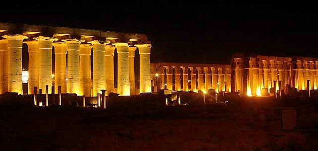 Sound and Light Show in Karnak Temple | Karnak Sound and Light Show | Luxor excursions