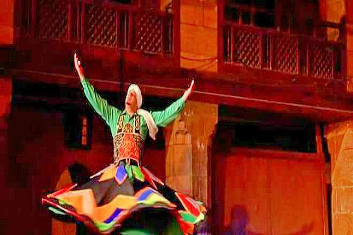 Tanoura Dance Show in Cairo | Wekalet El Ghouri Tanoura Show