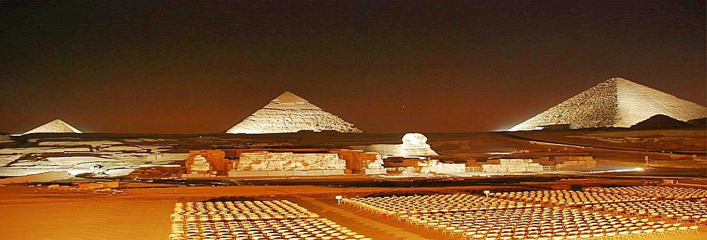 Sound and Light Show Pyramids   Giza Pyramids Sound and Light Show