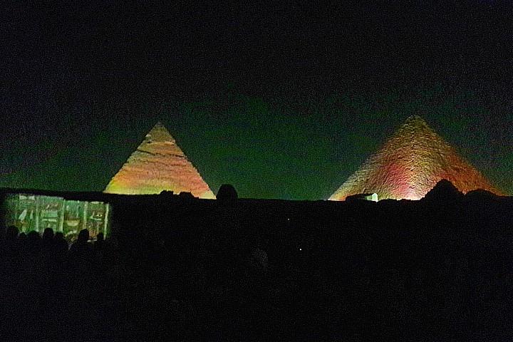 Sound and Light Show Pyramids | Giza Pyramids Sound and Light Show