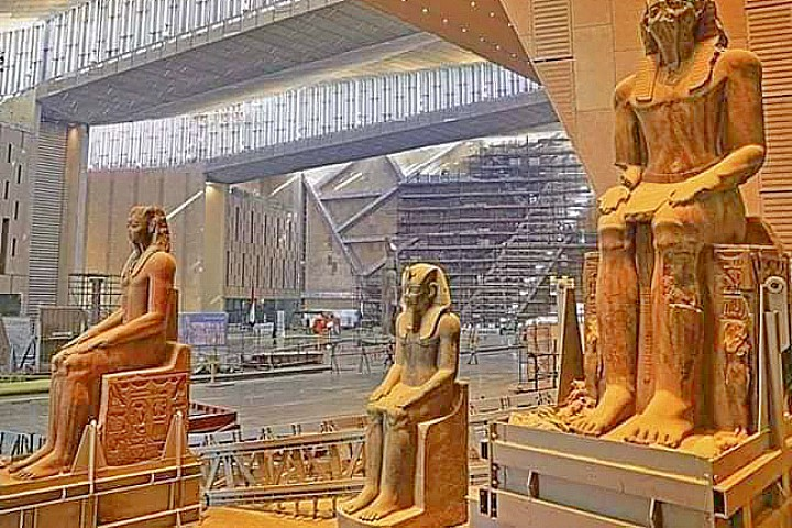 Half Day Tour to the Grand Egyptian Museum in Giza