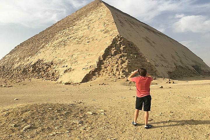 Egypt Meditation Tour in Dahshur Pyramids