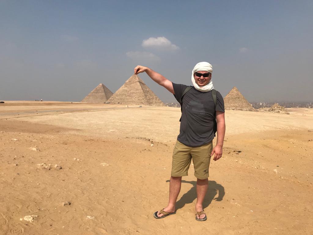 Grand Egyptian Museum and Giza Pyramids Tour from Alexandria Port