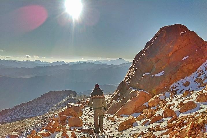 Farsh Rolf and Jebel Safsafa Meditation Tour in Sinai