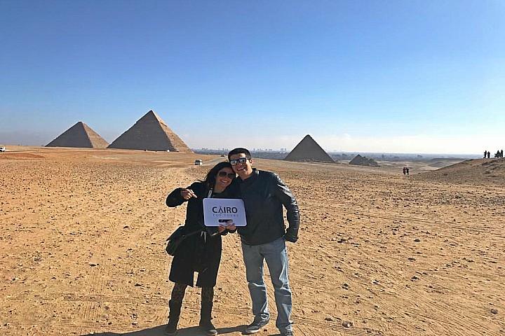 Day Tour to Giza Pyramids, Sphinx, Memphis, Saqqara and Dahshur | Pyramids Tour