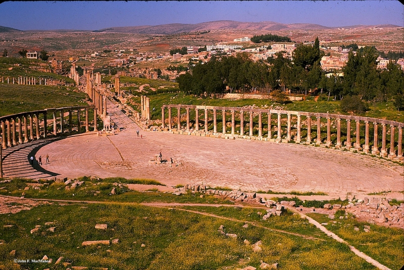 Jerash and Dead Sea Tour from Amman