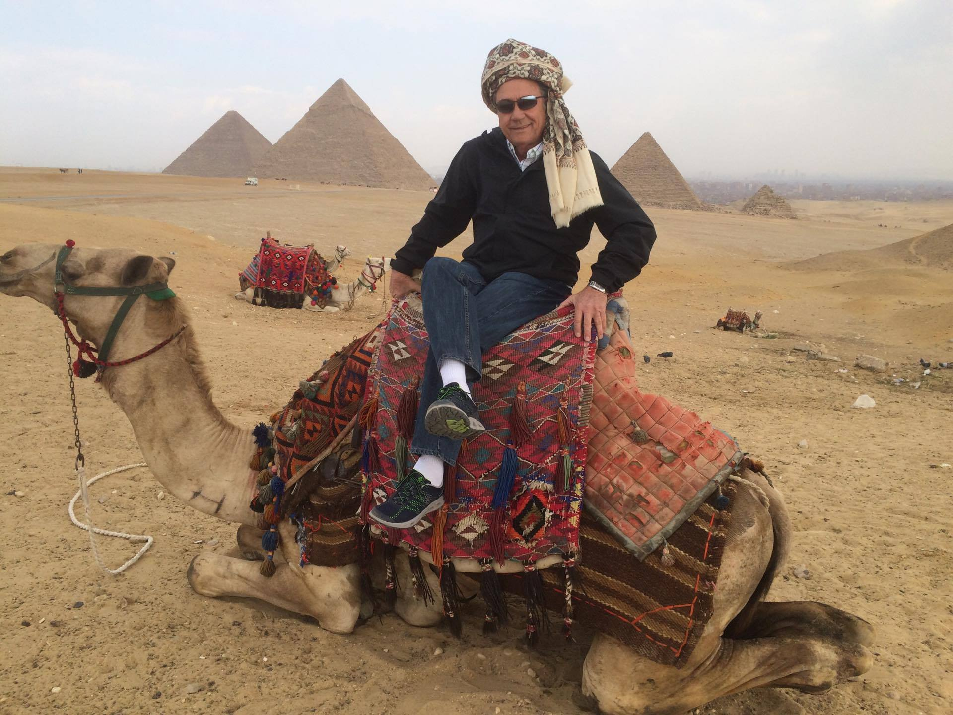 Giza Pyramids and Sphinx Half Day with Camel Ride