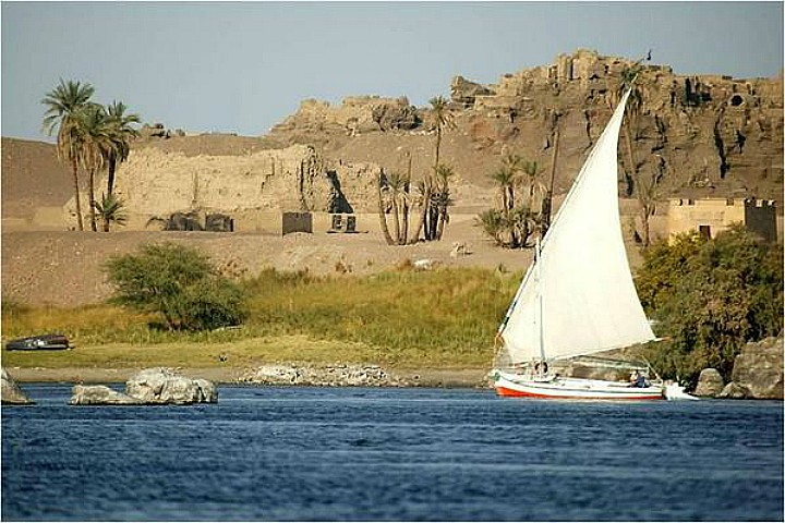 Felucca Ride on the Nile in Aswan | Aswan Felucca tours & excursions