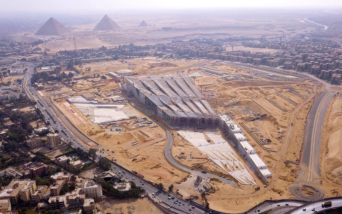 Grand Egyptian Museum and Pyramids Tour from Port Said