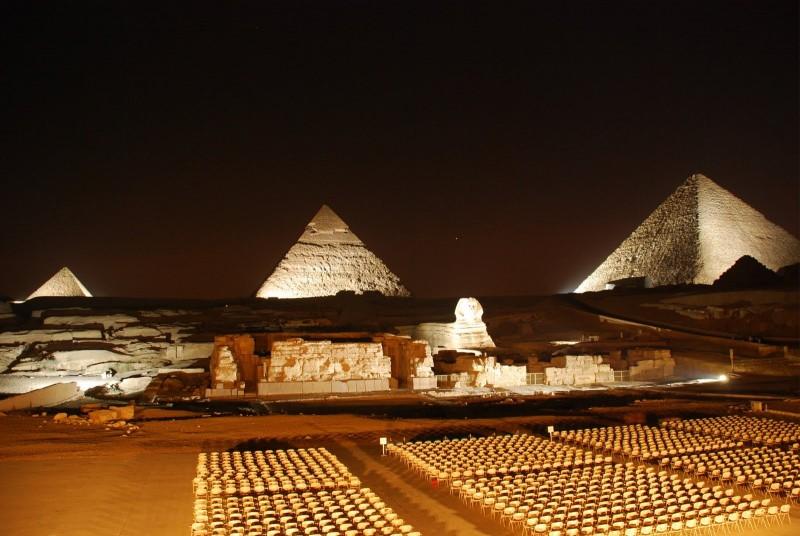 Sound and Light Show at Giza Pyramids | Pyramids Light Show