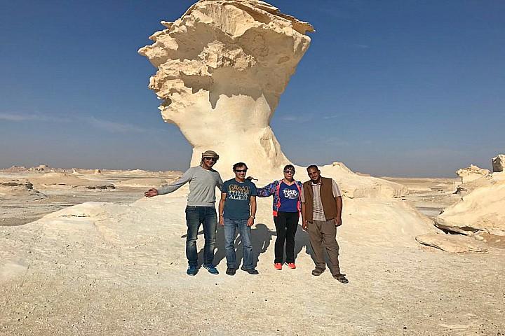 Desert Safari Trip to Bahariya Oasis and the White Desert | White Desert Egypt Tour